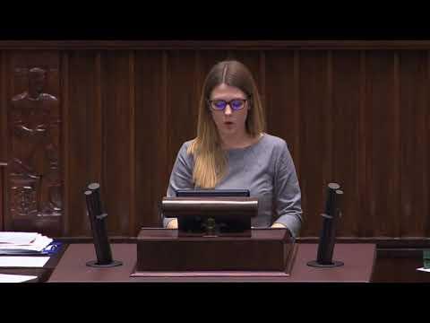 Elżbieta Zielińska – wystąpienie z 10 stycznia 2018 r.