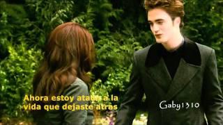 Repeat youtube video Edward y Bella - My Immortal (subtitulado)
