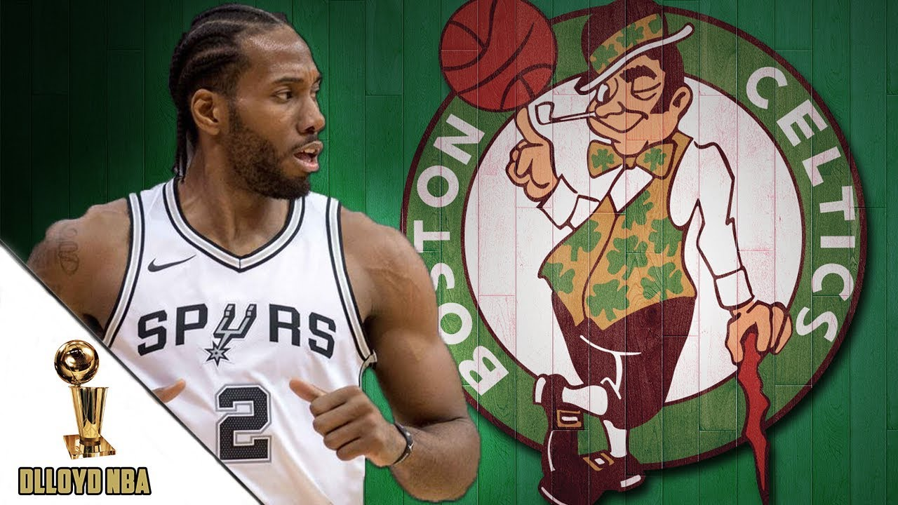 417d04e66 NBA Trade Rumors  Celtics Could Offer Trade Package With Jayson Tatum For  Kawhi Leonard!!
