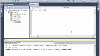 Видеоуроки с++ урок 1