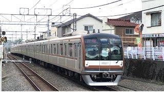 東京メトロ10000系10027F Fライナー快急「小手指」行き 西武池袋線秋津駅通過