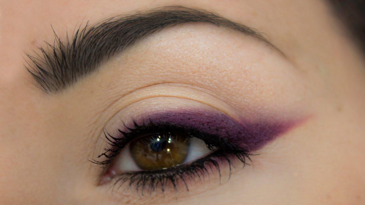 tuto eyeliner violet plum eyeliner makeup tutorial youtube. Black Bedroom Furniture Sets. Home Design Ideas