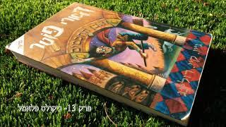 הארי פוטר ואבן החכמים- Hebrew Audiobook  -פרק 13