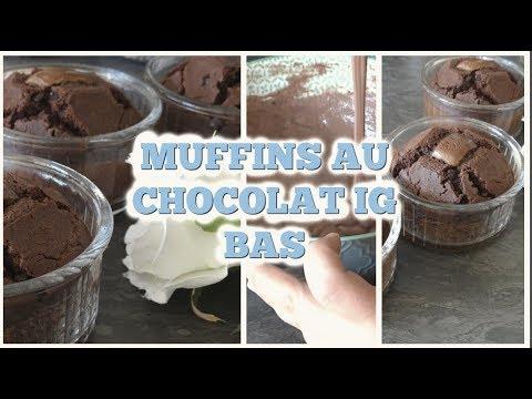  recette-muffins-au-chocolat- -facile-rapide-et-healthy- perte-de-poids