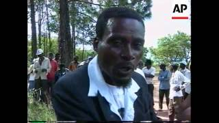 ZIMBABWE: KAROI: STANDOFF BETWEEN FARMERS & SQUATTERS