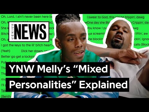 """YNW Melly & Kanye West's """"Mixed Personalities"""" Explained 