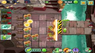 Plants vs Zombies 2 : Pirate Seas Day 16 Walkthrough