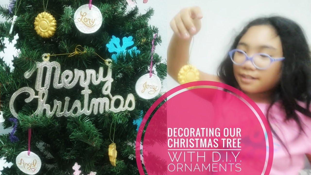 Decorating our Christmas Tree | Handmade Christmas Ornaments | DIY Christmas Tree Ornaments