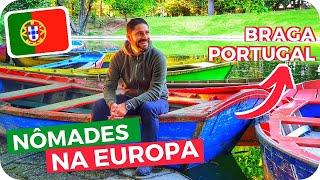 Baixar Como Viver & Viajar na Europa Como NÔMADE DIGITAL! Viagem a Braga, Portugal #ExpediçãoEuropa