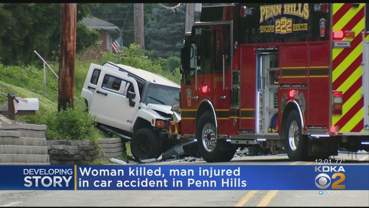 Woman Dead, Man Injured In Fatal Penn Hills Crash