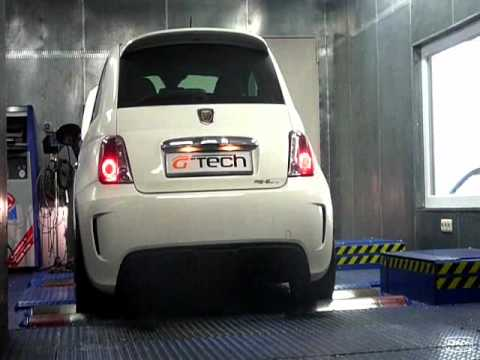g tech klappenauspuff f r abarth 500 youtube. Black Bedroom Furniture Sets. Home Design Ideas