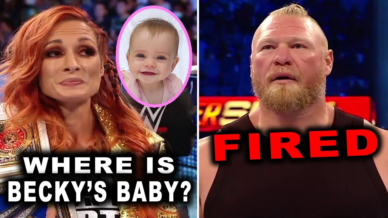 Download Brock Lesnar FIRED from SmackDown & Where Is Becky Lynch's Baby ? - Wrestling News 2021