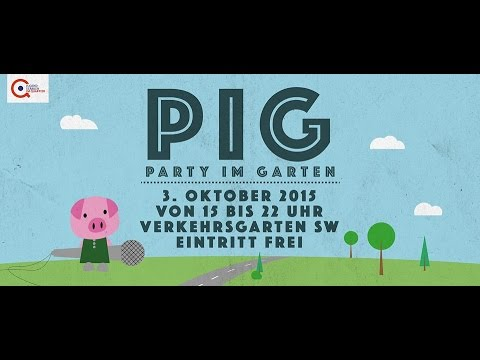 pig party im garten youtube. Black Bedroom Furniture Sets. Home Design Ideas