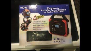 Walmart Clearance Ideation G๐Power Plus Emergency Portable Power Station AC DC $12 HD-008 GP-200