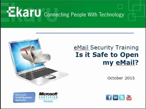 eMail Security   Is it Safe to Open my eMail