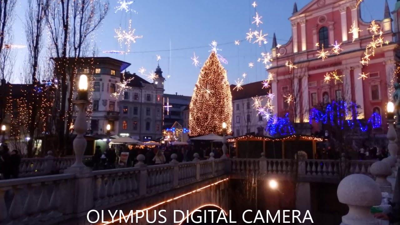 Ljubljana bozic Laibach Weihnachten - YouTube