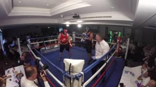 Ultra White Collar Boxing | Nottingham | Nick Corrigan VS Brett Peel