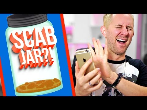 Thumbnail: Picking Scabs!? 10 Apps That Will Waste Your Life!