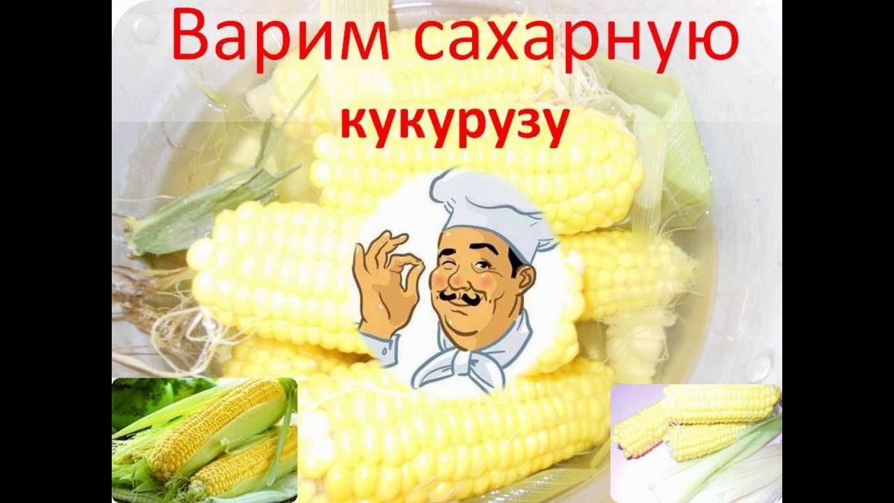 как варить сладкую кукурузу