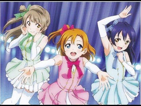 μ's START:DASH!! (Kotori,Umi,Honoka) Chipmunk