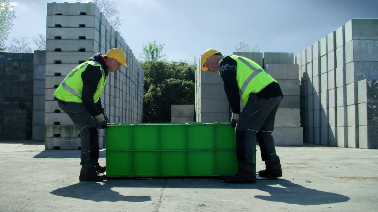 How to use Europeblock moulds for producing concrete blocks