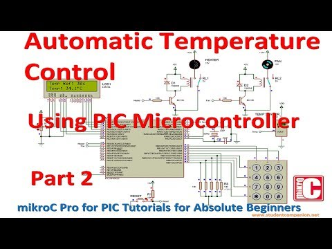 Design an Automatic Temperature Control Using PIC