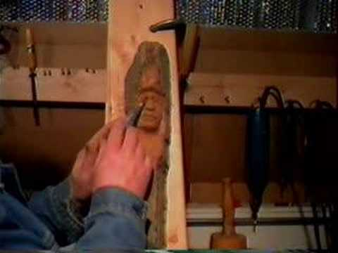 chuck hall wood carving 2