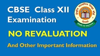 cbse-2017-no-re-evaluation---2018-revaluation-process-link-in-comments