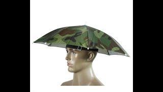 Складная Шляпа зонтик Foldable Umbrella Hat