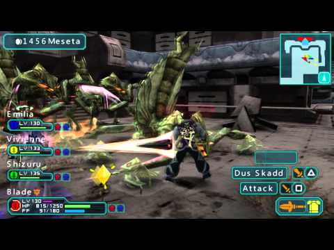 Phantasy Star Portable 2 – PPSSPP Emulator Gameplay
