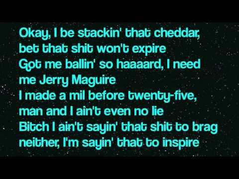 Big Sean - RWT (Lyrics) [DETROIT]