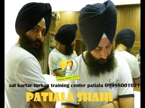 Download Patiala Shahi Turban sat kartar turban training center 09988001021