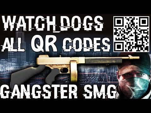 Watch Dogs - The Gangster SMG (all 16 QR codes)