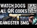 Watch Dogs The Gangster SMG All 16 QR Codes mp3