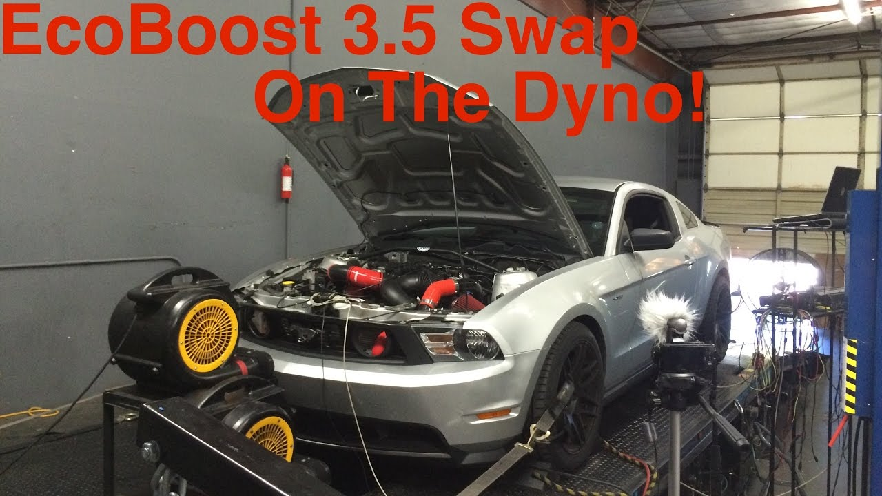 3 5l Ecoboost Swed Mustang On The Dyno At Mpt And Test Drive