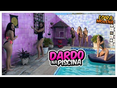 DESAFIO DO DARDO NA PISCINA COM ELAS ... - YouTube ▶11:45