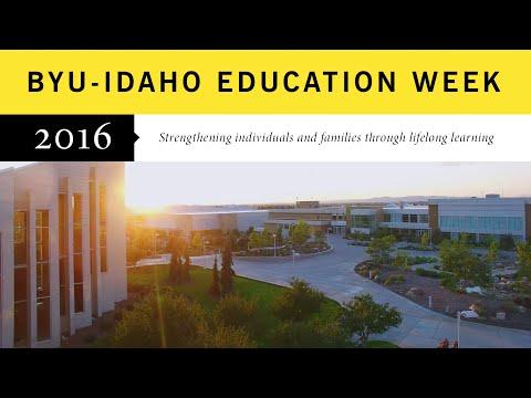 BYU-Idaho Education Week 2016