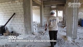 New Shelters for Ghouta's Families