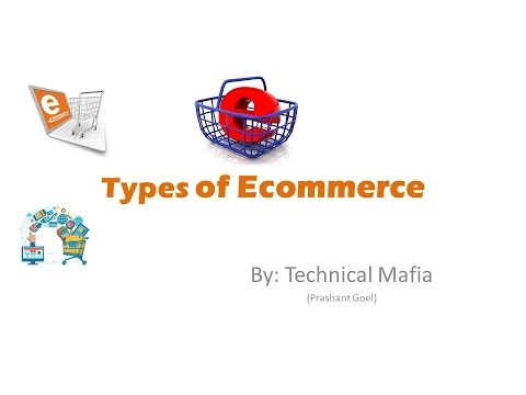 Types of E-Commerce in hindi