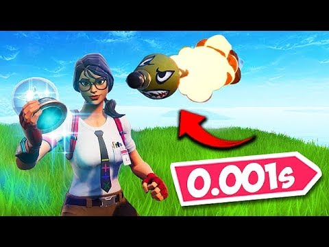 *0.1 SECOND* LUCKIEST TIMING EVER! - Fortnite Funny Fails and WTF Moments! #455