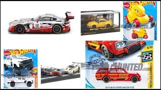 New Hot Wheels 2020 Mainline cars and 5 Pack cars and New Cars from Tarmac Works