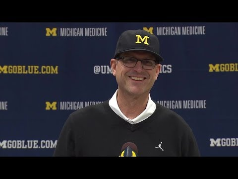 Jim Harbaugh Signing Day 12-20-17
