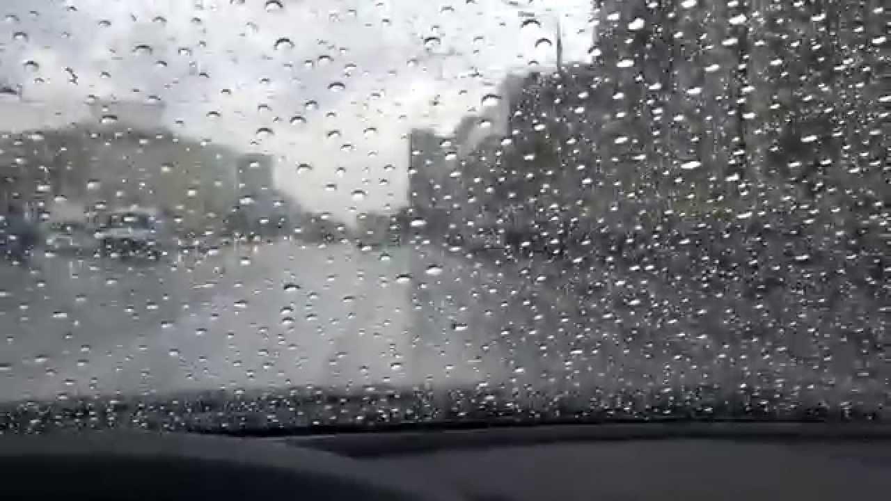 Капли дождя на стекле своими руками