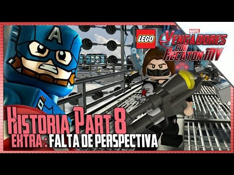 LEGO Marvel Avengers | Part 8 | Lack of Perspective | 1080p HD Guide