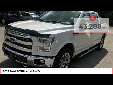 2017 Ford F-150 Lariat 4WD Used HFB46152