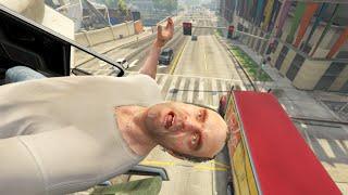 GTA V Unbelievable Crashes/Falls - Episode 105