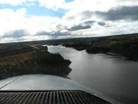 Caravan Landing & Taking off at Temiscamie River, QC