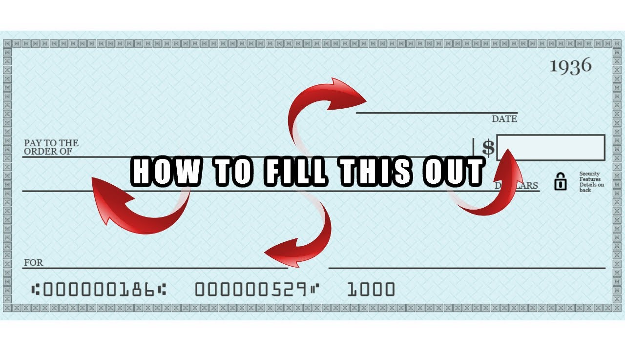 How to Write a Check For $17  Fill Out a Thousand Dollar Check