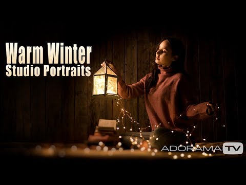 Warm Winter Studio Portraits: Take And Make Great Photography With Gavin Hoey