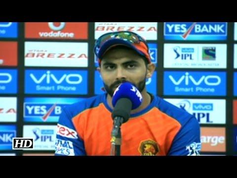 IPL 9 GL vs RPS: Jadeja Happy To Beat...